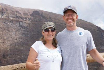 Curt and I on Vesuvius