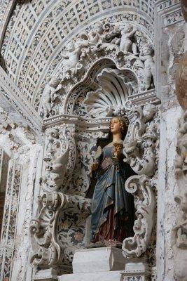 sculpture in palermo church