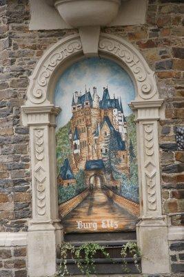 Burg Eltz painting