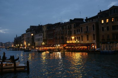 Night time in Venice