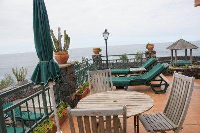 beach chairs outside room