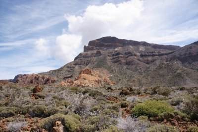 first view of Teide National Park