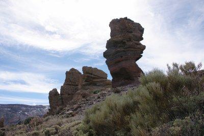 Rock piles in Teide National Park
