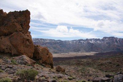 landscape of Teide National Park
