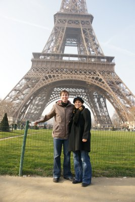 Catherine and I at the tower