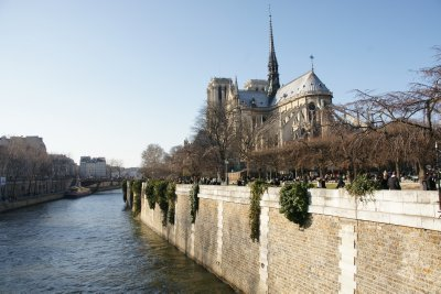 Notre Dame with river