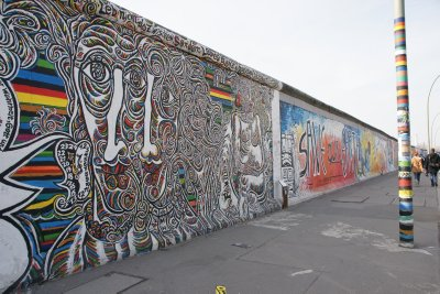 a longer view of the wall
