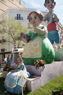 one of the falla queens