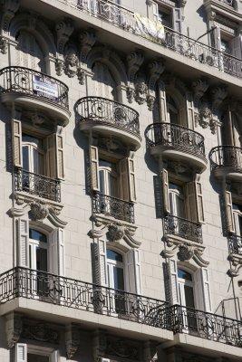 Valencian balconies