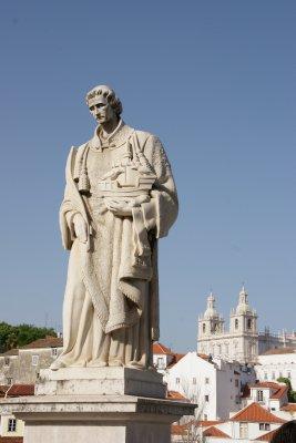 statue in Lisbon