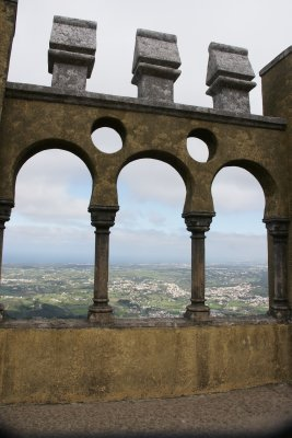 Sintra palace view