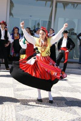 Dancer in portugal