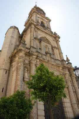 cathedral in Jerez