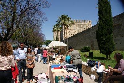 Jerez flea market