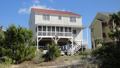 the rental house pawleys peach