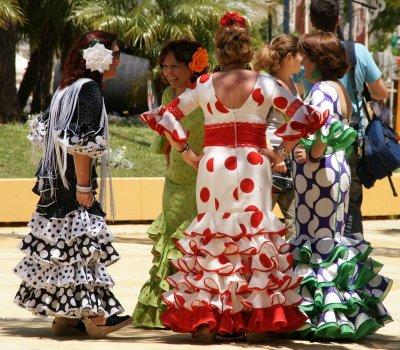 flamenco ladies