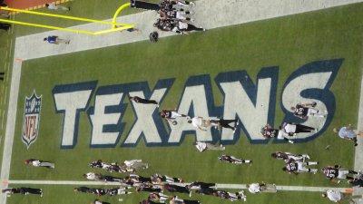 Texans endzone