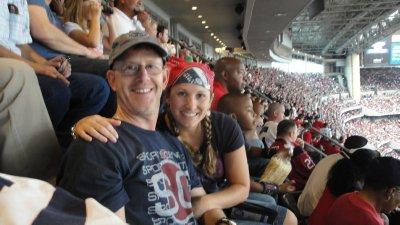 us at Reliant stadium