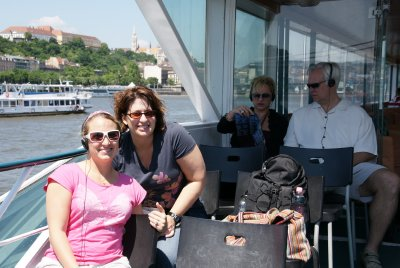Jerilyn and I on danube cruise