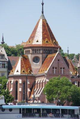 tiled church