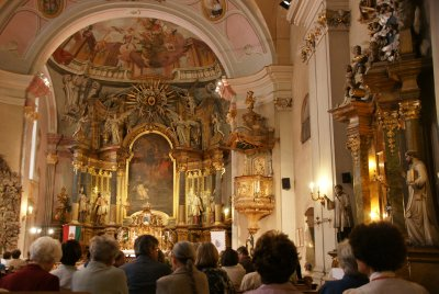 church with concert
