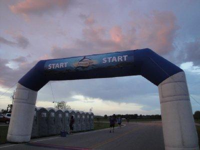 Aquarium Run start