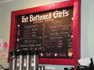 Fat Bottom Girls Cupcake Shop