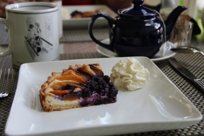 Blueberry tort
