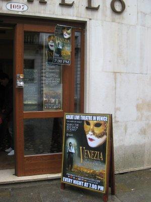 Venezia show
