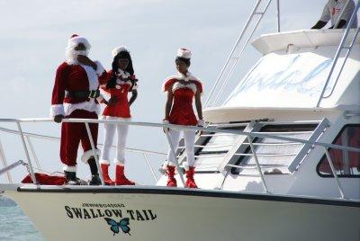 Jamaican Santa