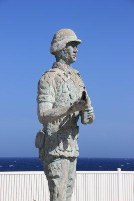 Marine Statue