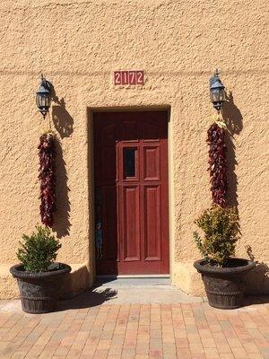 New Mexican Front door
