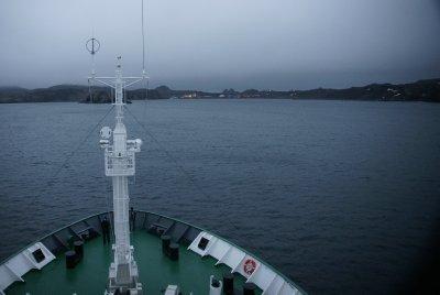 Russian Base at Maxwell Bay