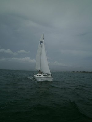 Sailboat in GTMO