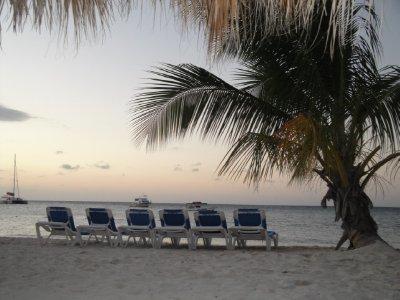 Sunset in Jamaica