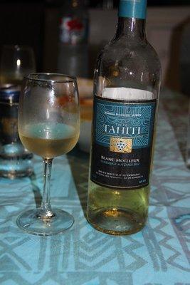 Tahitian wine