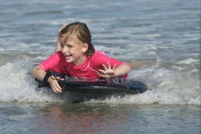 Wave riding Elise