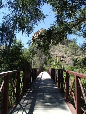 bridge to the trail