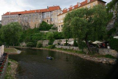 castle along the river