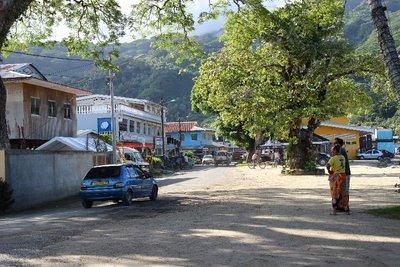 downtown Huahine
