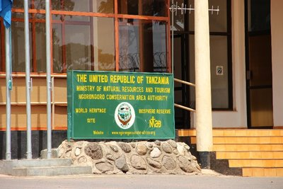 entrance to Ngorongoro