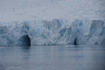 ice tunnels