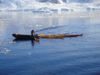 kayaks await