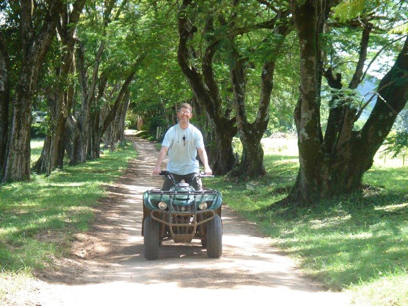 Curt on 4-wheeler