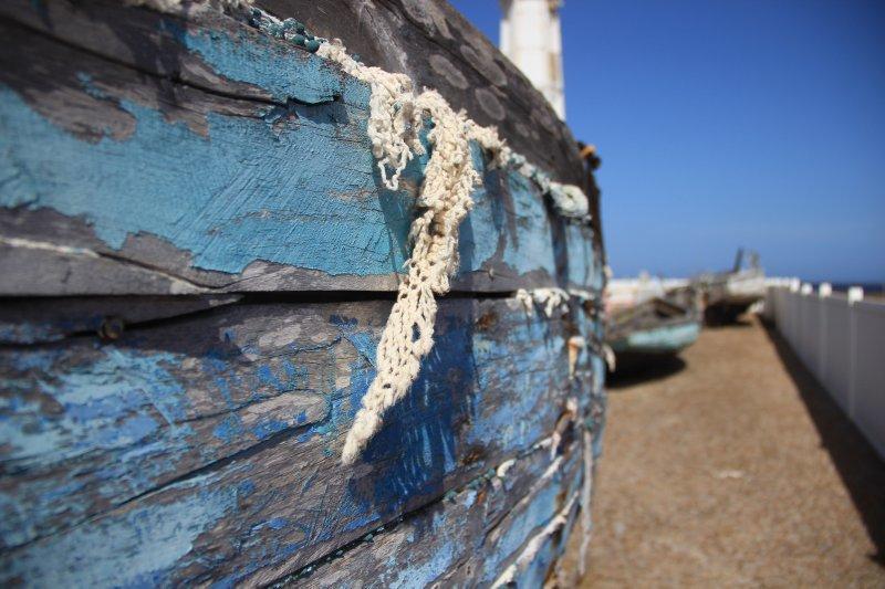 close up boat