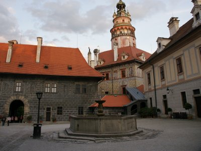 square at the castle