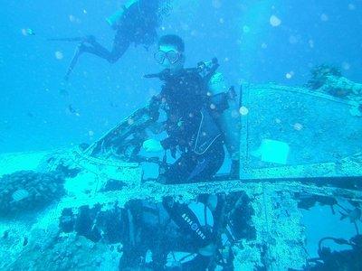 underwater cockpit