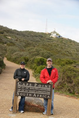 us at Cape Point