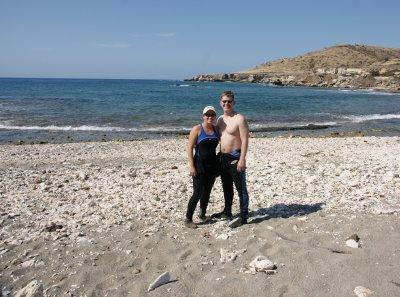 us on Cusco Beach