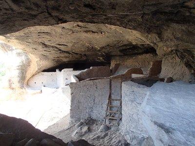 walls inside cave